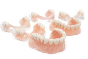 protéza, deflex, zubní náhrada